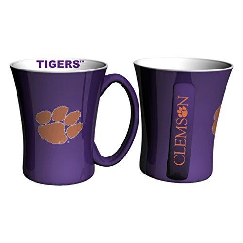 NCAA Clemson Tigers Victory Mug, 14-ounce, 2-Pack