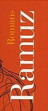 Charles-Ferdinand Ramuz Romans Coffret 2 en volumes par Ramuz