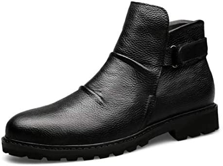 歩きやすい トレッキングシューズ 登山靴 ワークブーツメンズ 滑り止め ベルクロ 防水 裏起毛 お兄系 V系 安定感 プレゼント ハイカット 紳士靴 おしゃれ 秋靴 冬靴 マーティンブーツショートブーツ