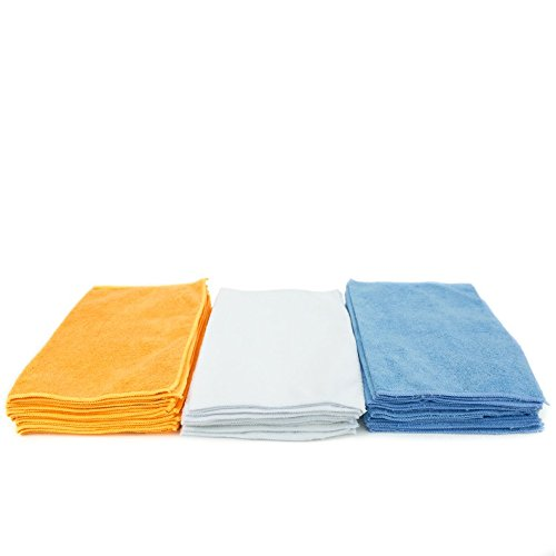 Large Product Image of Zwipes Microfiber Cleaning Cloths and Towels, 24 Count