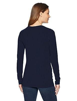 Amazon Essentials Women's Classic-Fit Long-Sleeve Crewneck T-Shirt