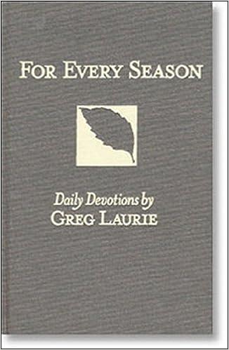 1: For Every Season I