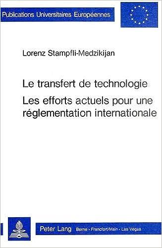 Transfert Technologie. Les