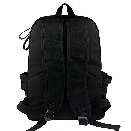Unisex BTS offizielle Rucksack Schultasche Jungen und Mädchen Schoolbag