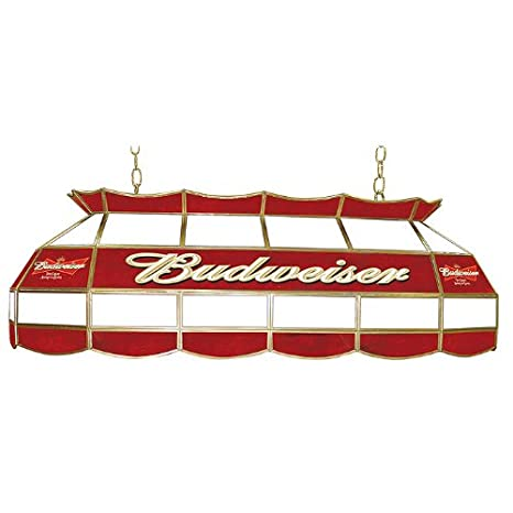 Amazon.com: Budweiser Vidrieras 40 inch mesa de billar Luz ...