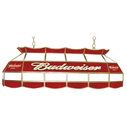 Budweiser Stained Glass 40 Inch Pool Table Light