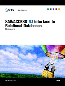 SAS ACCESS 9.1 Supplement For OLE DB SAS ACCESS For Relational Databases