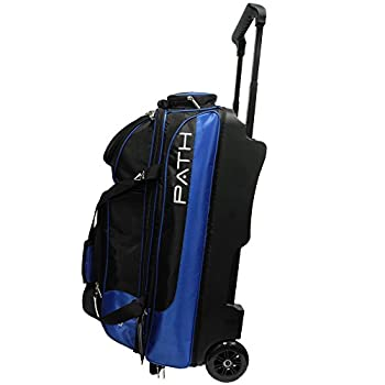 Image of Bowling Roller Bags Pyramid Path Triple Premium Deluxe Roller with 5 Accessory Pockets Bowling Bag