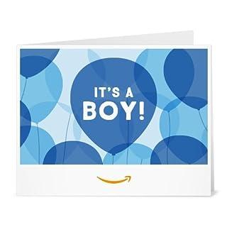 Amazon Gift Card - Print - It's a Boy Balloons (B01LX3U1D1) | Amazon price tracker / tracking, Amazon price history charts, Amazon price watches, Amazon price drop alerts