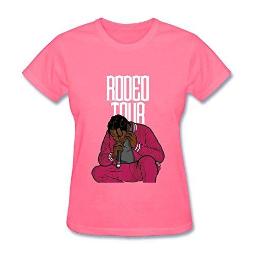 CNTJC Women's Travis Scott's Rodeo Tour T Shirt L