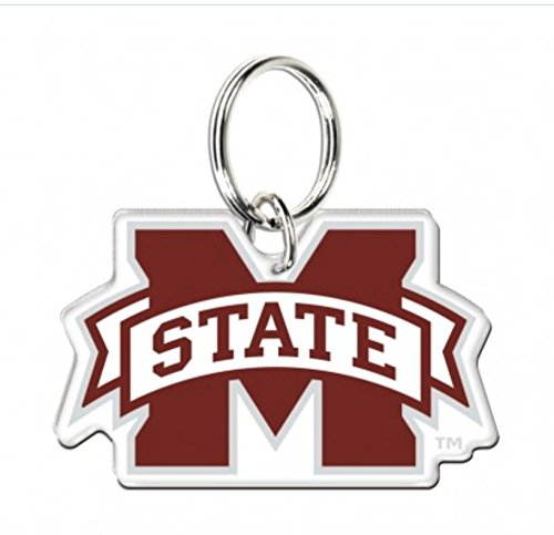 Bulldogs State Mississippi Gym Bag (NCAA Official Mississippi State Bulldogs 3'' Acrylic Key Chain)