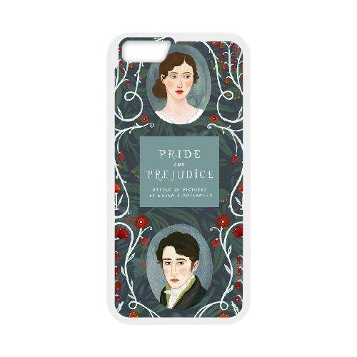 Austen Happy coque iPhone 6 4.7 Inch Housse Blanc téléphone portable couverture de cas coque EBDOBCKCO13084