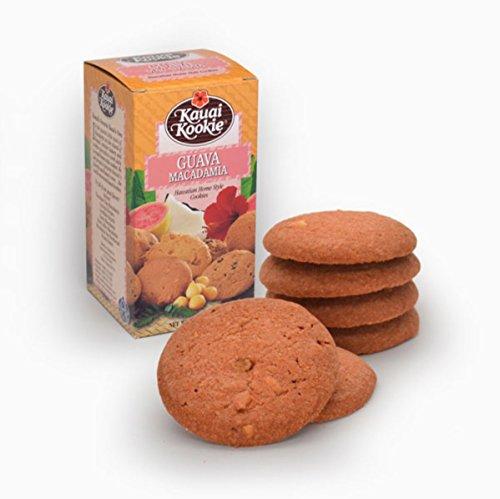 Hawaiian Kauai Kookie Home Style Cookies 5oz (Guava Macadamia) ()