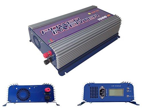 Newgate iMeshbean® LCD 1500W MPPT Solar Gird Tie Inverter...