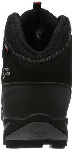 KangaROOS Killrock - Zapatos de senderismo de material sintético hombre negro - Schwarz (blk/dk.grey/lt.grey 521)