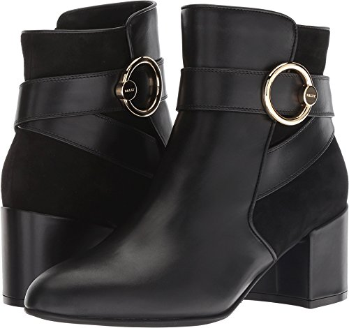 BALLY Women's Izma Boot Black 7 B US - Womens Bally Shoes