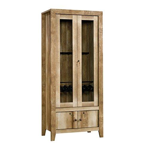 (Sauder 419440 Dakota Pass Gun Cabinet, Craftsman Oak)