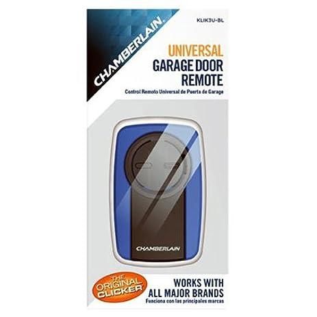 universal garage door openerClicker Blue Universal Garage Door Remote   Amazoncom