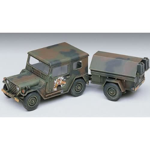 1/35 M151a2 Hardtop with Trailer 13012 - Plastic Model Kit