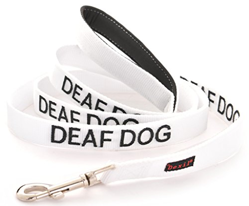 DEAF DOG Dexil Friendly Dog Collars Color Coded Dog Accident Prevention Leash 6ft/1.8m Prevents Dog Accidents By Letting Others Know Your Dog In Advance Award Winning