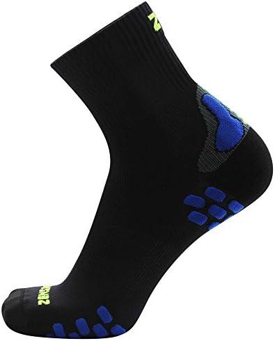 Zensah Herren Grit Running Socks Ankle Kompressions