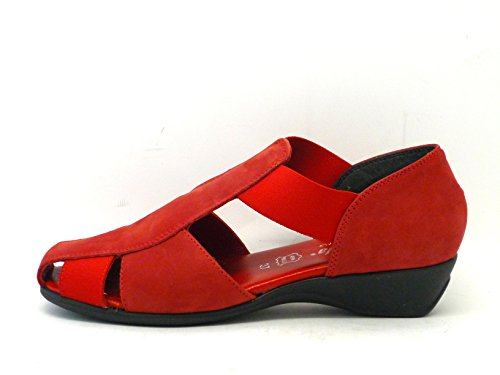 SUSI MODE-CHAUSSURE-SANDALE Rouge