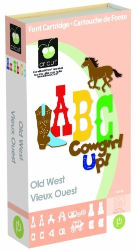 Cricut Cartridge, Old West by Cricut