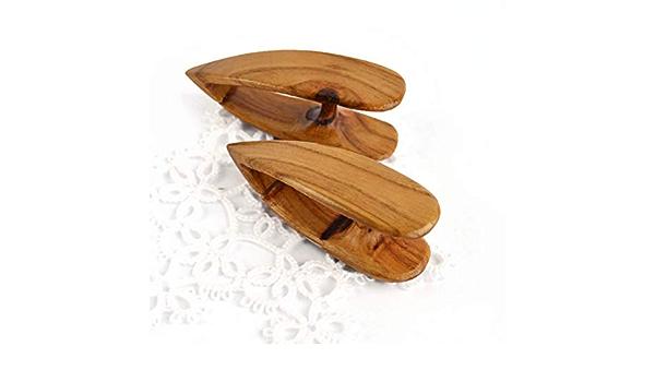 Wooden Hand Made Double Decker Tatting Shuttle