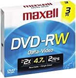 MAXELL 635115 DVD-RW Rewriteable Recordable DVD
