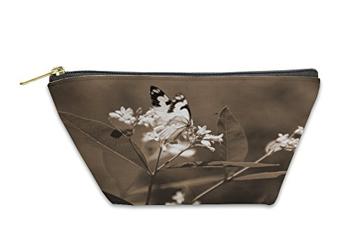 Gear New Accessory Zipper Pouch, Butterfly Collecting Nectar At Yosemite National, Small, - Order New Card A Nectar