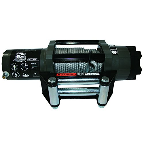 Bulldog Winch 15022 Winch 6000lb Power Sports With 55 Ft