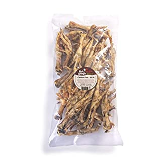 Pet 'n Shape Chicken Feet Dog Treat - Made & Sourced in The USA - All Natural Dog Chews, 25 Count