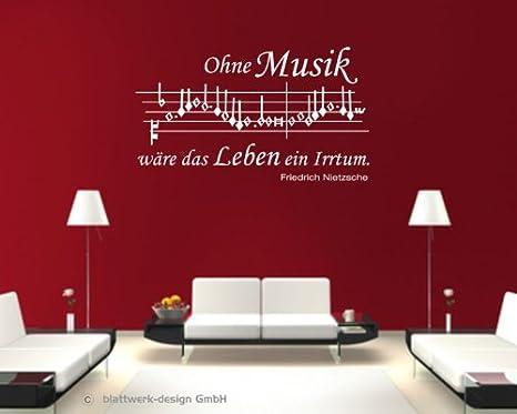 Rilascia design da parete adesivo da parete note musicali con
