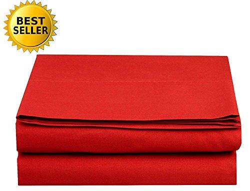 Luxury Flat Sheet Elegant Comfort Wrinkle-Free 1500