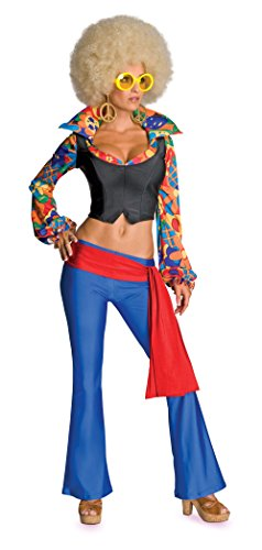 Secret Wishes Women's Make Love Not War Adult Costume,Multicolor,Medium (Make A Wish Costumes)