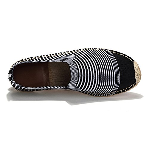 Comfort Scarpe Espadrillas Moda greywhite di Basse Unisex Cinese Tela BwqCSw