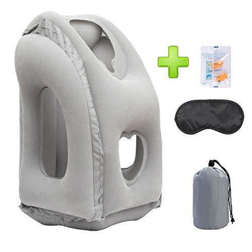 Inflatable UPGRADED Ergonomic Traveling Camping Free product image