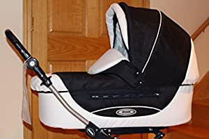 Roan Kortina Classic Pram Stroller 2-in-1 with Bassinet and Seat (19sk color)