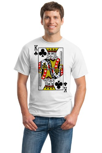 KING OF CLUBS Unisex T-shirt / Card Costume Tee, Magic Trick Tee