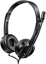 Headset RAPOO Usb Preto H120 - RA020