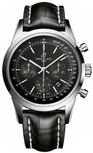 Breitling Transocean Chronograph Mens Watch Ab015212/BA99