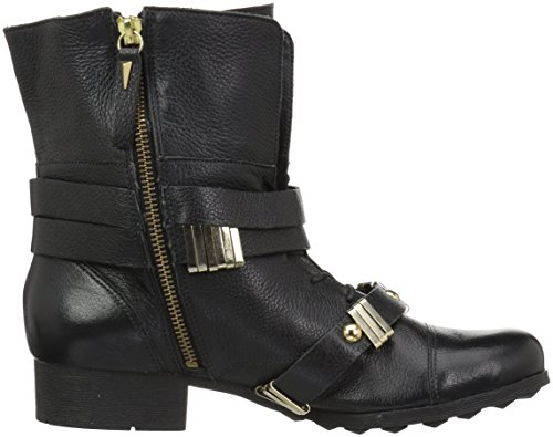 Madison Harding Womens Hyde Combat Boot, Black, 9 M US