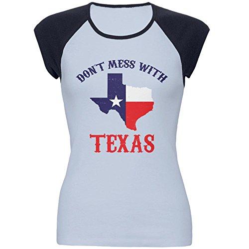 Texas Womens Cap Sleeve T-shirt - 1