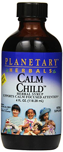 Calm Child Herbal Syrup (Planetary Herbals Calm Child Herbal Syrup, 4 Fluid Ounce)