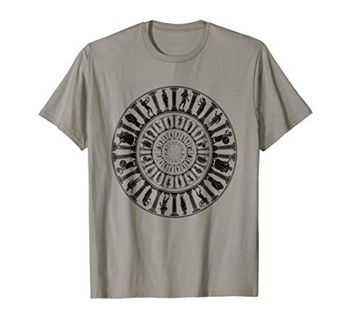 Greek Gods Vortex T-Shirt Ancient Greece Mythology Portal -