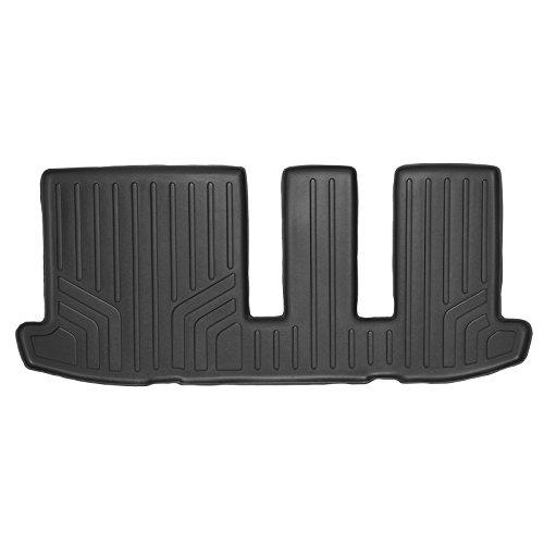 MAX LINER C0131 Custom Fit Floor Mats 3rd Row Liner Black for 2013-2019 Nissan Pathfinder / 2013 Infiniti JX35 / 2014-2019 QX60