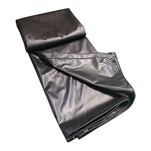 キャンベラこっそり放出ZEMIN オーニング サンシェード ターポリン 防水 日焼け止め シート 布 テント スプライス 重い義務、 キャンバス、 12サイズあり (色 : ブラック, サイズ さいず : 2X2M)