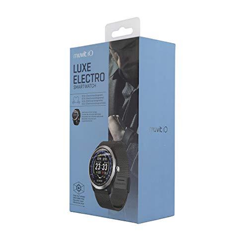 Reloj de Actividad y Salud Luxe Electro Negro 2 Correas ...