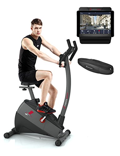 Sportstech TEST WINNER* Exercise Bike ESX500 with smartphone app control +...