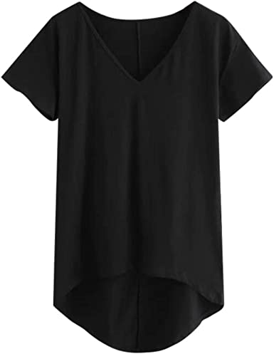 Womens New Summer Blue Flared Sleeve Frilled Panel Tunic T shirt Shift Top